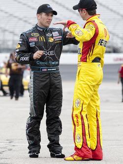 Jamie McMurray and Kurt Busch