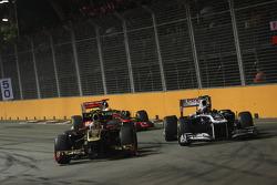 Vitaly Petrov, Lotus Renault GP ve Pastor Maldonado, AT&T Williams