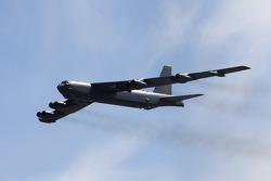 B-52 bomber fly-over
