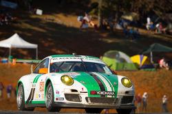 #54 Black Swan Racing Porsche 911 GT3 Cup: Tim Pappas, Jeroen Bleekemolen, Sebastiaan Bleekemolen