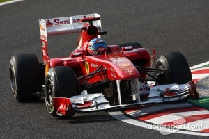 A few excursions for Ferrari, but Alonso took 5th place
