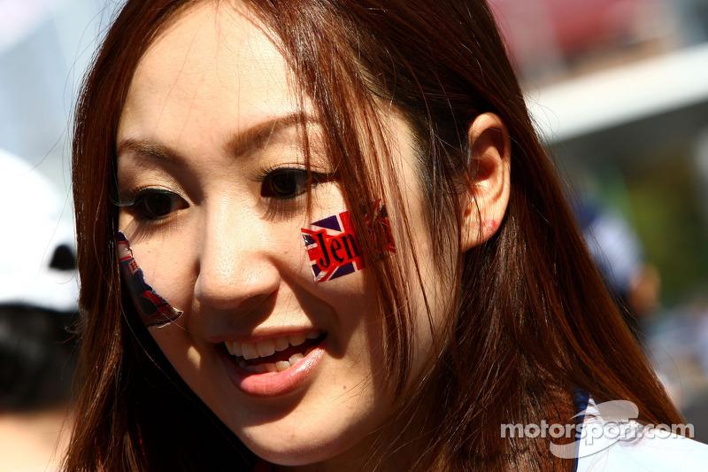 Fan of Jenson Button, McLaren Mercedes