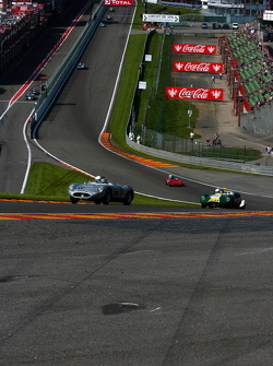 First lap at Eau Rouge