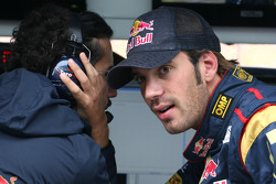Laurent Mekies,  Chief Engineer,  Scuderia Toro Rosso and Jean-Eric Vergne, Test Driver, Scuderia Toro Rosso