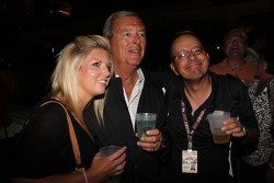 Golfer Fuzzy Zoeller at the kick off party