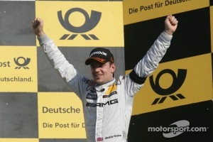 Unbeatable today: Jamie Green won the season finale at Hockenheim