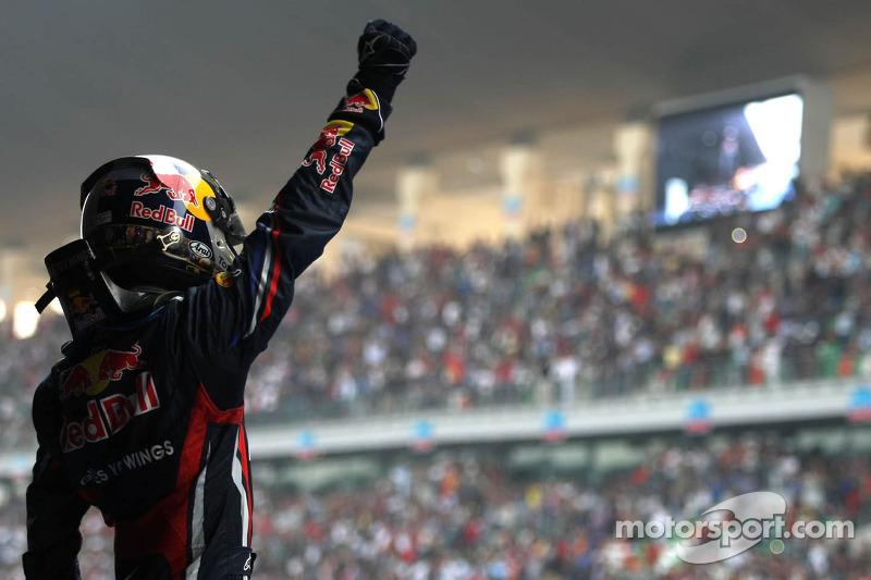 Sebastian Vettel, campeón del mundo 2011