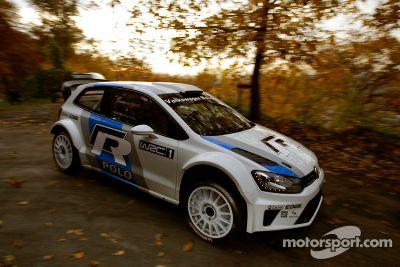 Тесты Volkswagen Polo R WRC
