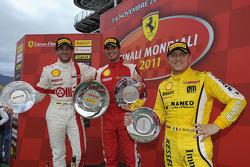 Trofeo Pirelli Ferrari Challenge Italia race 2 podium