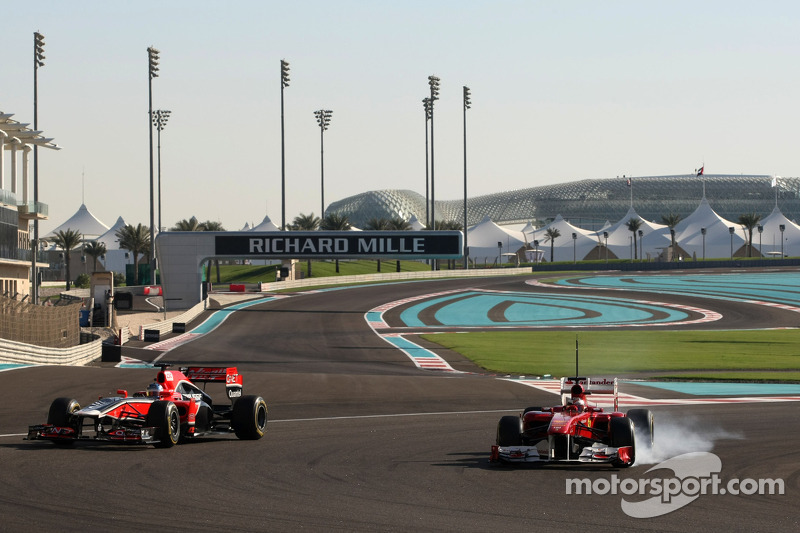 Charles Pic, Virgin Racing and Jules Bianchi, Test Driver, Scuderia Ferrari