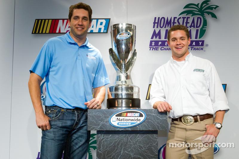 Championship contenders press conference: NASCAR Nationwide Series contenders Elliott Sadler and Ricky Stenhouse Jr.