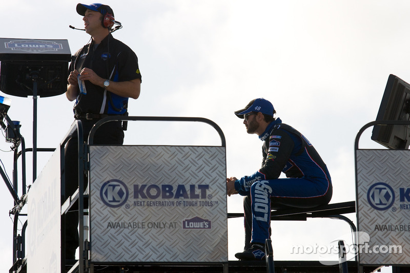 Chad Knaus and Jimmie Johnson, Hendrick Motorsports Chevrolet