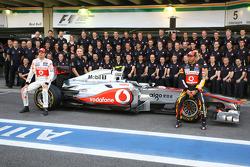 McLaren Mercedes team picture