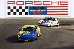 Mike Cassling 2010 Brun Porsche Cayman Interseries