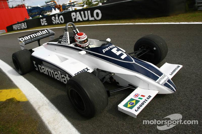Нельсон Піке за кермом Brabham BT49