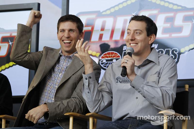 Denny Hamlin und Kyle Busch, Joe Gibbs Racing Toyota