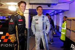 Romain Grosjean and Sébastien Ogier