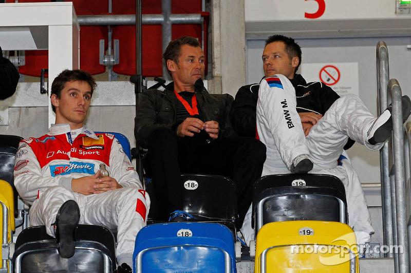 Filipe Albuquerque, Tom Kristensen and Andy Priaulx