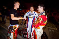 Race winner Danny Formal with Ben Cooper