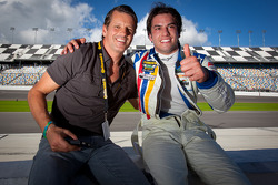 Oswaldo Negri and Felipe Nasr
