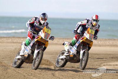 KTM Dakar, presentación