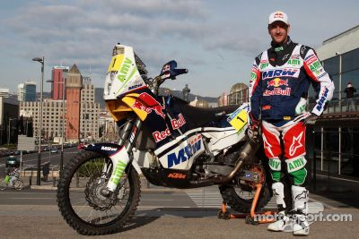 Marc Coma: courrier for the day