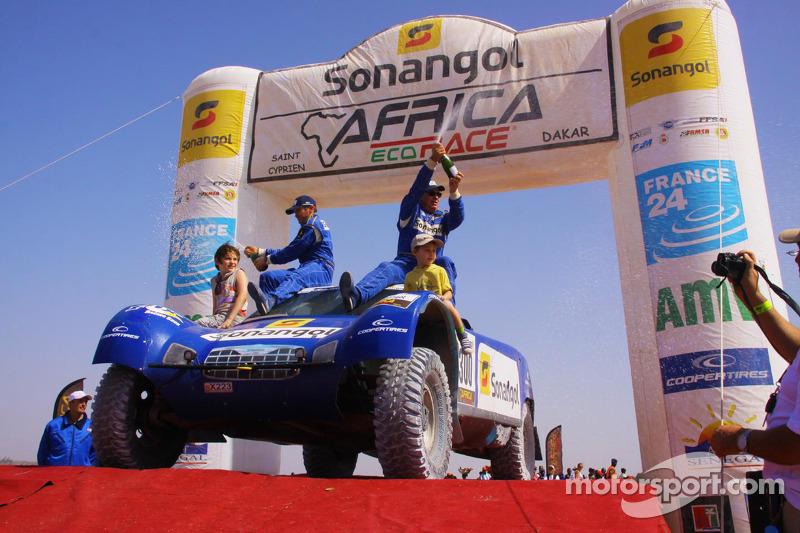 Car category winner Jean-Louis Schlesser