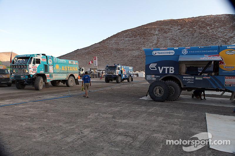 Kamaz trucks