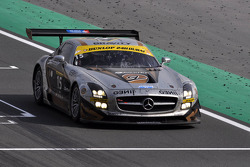 #15 Gravity Racing International Mercedes SLS AMG GT3: Vincent Radermecker, Loris de Sordi, Eric Lux, Gerard Lopez, Tomas Enge
