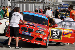 #53 Duwo Racing BMW M3 E46: Jean-Marie Dumont, Frédéric Schmit, Nicolas Schmit, Stéphane Bailly, Thierry Chkondali