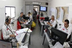 Dakar control centre