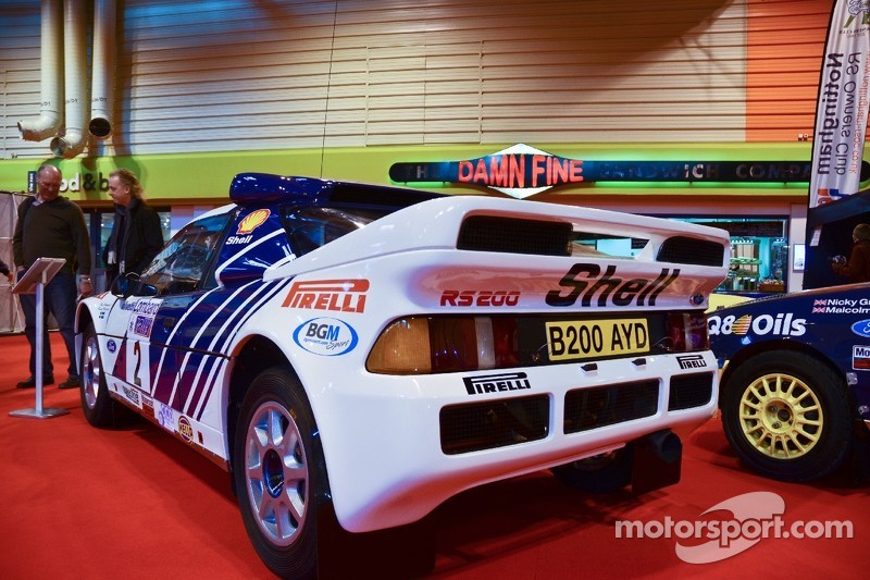 Ford RS200 Group B rallywagen