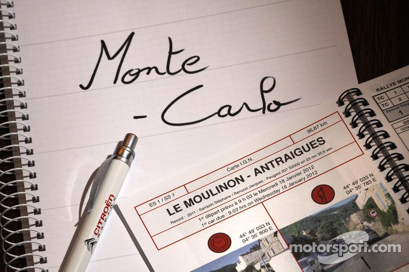 Rallye Monte Carlo atmosphere