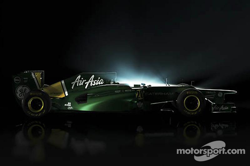 Caterham F1 CT01