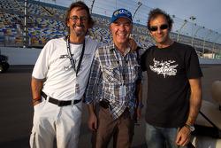 Eduardo Costabal, Eliseo Salazar and Emanuele Pirro