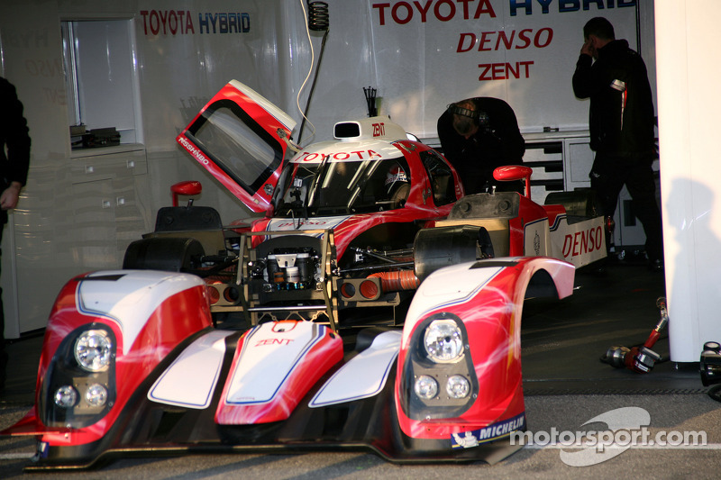 La Toyota TS030 Hybrid