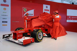 Fernando Alonso and Felipe Massa reveal the Ferrari F2012