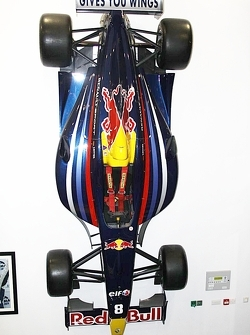 Sebastian Vettel's World Series Renault car