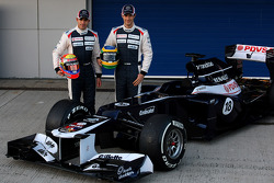 Pastor Maldonado, Williams F1 Team; Bruno Senna, Williams F1 Team