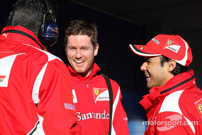 Rob Smedly, Scuderia Ferrari, Chief Engineer van Felipe Massa, Scuderia Ferrari