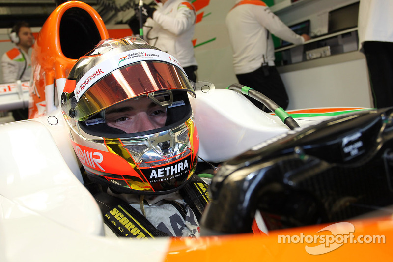 Jules Bianchi, Sahara Force India Formula One Team, pilote d'essais