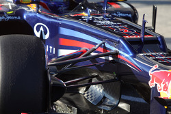 Mark Webber, Red Bull Racing front suspension