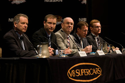 Nissan announces it is joining the V8 Supercars Series in 2013