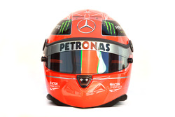 Michael Schumacher, Mercedes GP Petronas F1 Team helmet