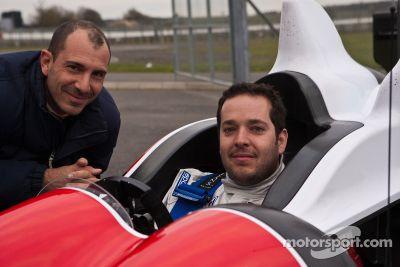 Greaves Motorsport Zytek Z11SN shakedown