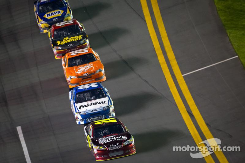 Jeff Gordon, Hendrick Motorsports Chevrolet aan de leiding