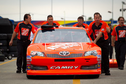 Car of Joey Logano, Joe Gibbs Racing Toyota