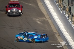 Ricky Stenhouse Jr., Roush Fenway Ford after the crash