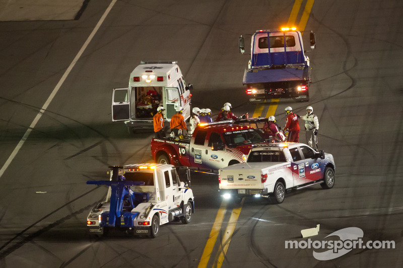 Joey Coulter, Richard Childress Racing Chevrolet na crash