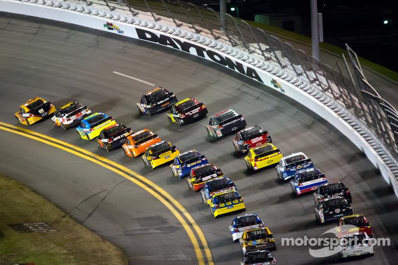 Jeff Burton, Richard Childress Racing Chevrolet aan de leiding